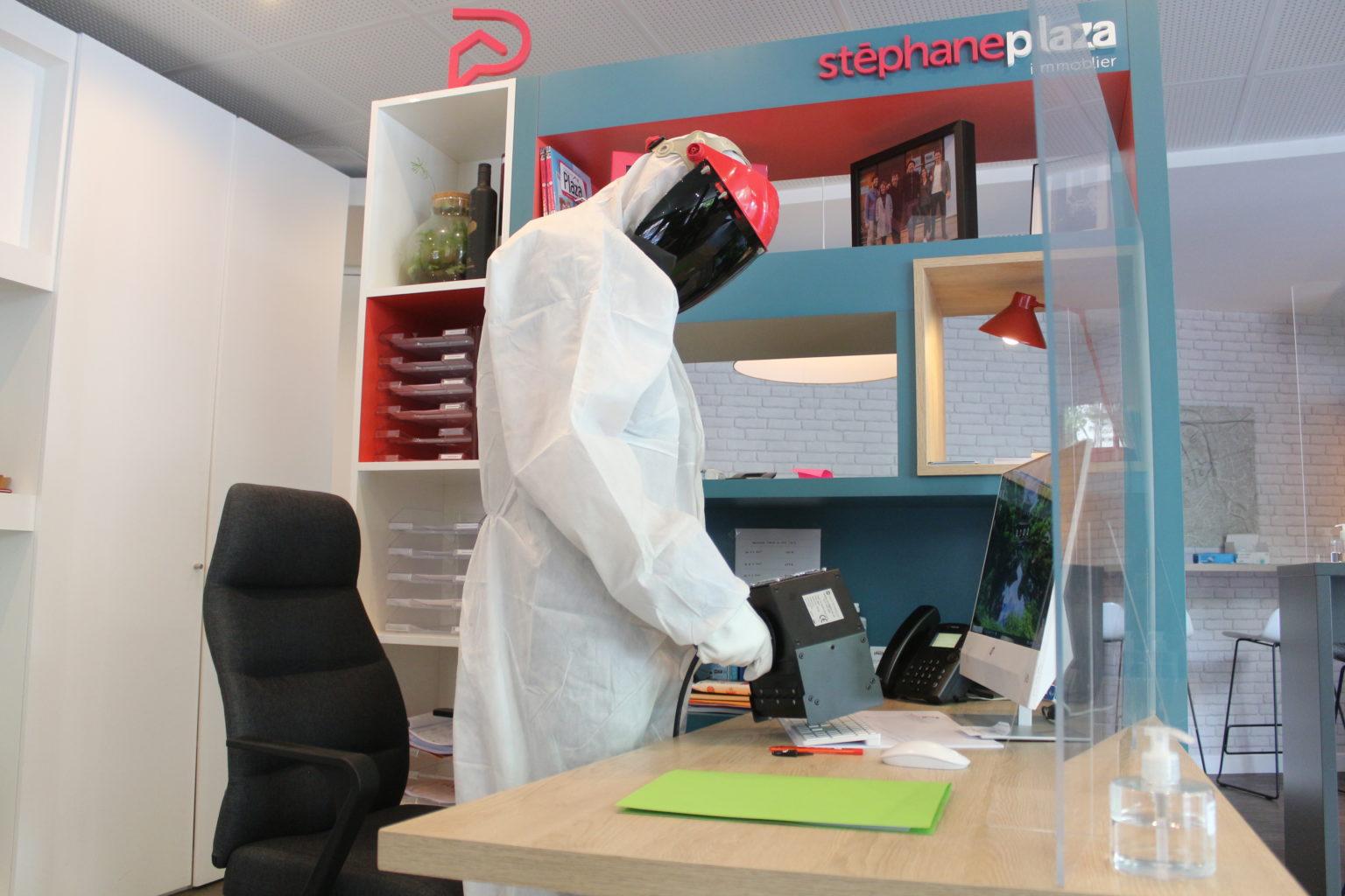 Désinfection bureaux UV